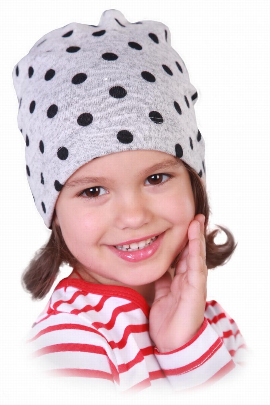 Трикотажная шапка с ушками своими руками
